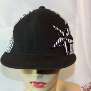 ef13bda8f5f Unbranded Accessories - Star Embroidered Baseball Cap Pin Wheel style Hat